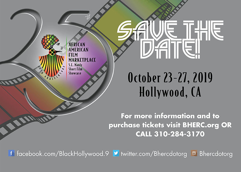 African American Film Marketplace - October 23 to 27, 2019
